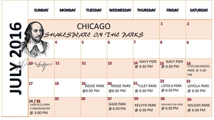 Chicago Shakespeare in theParks