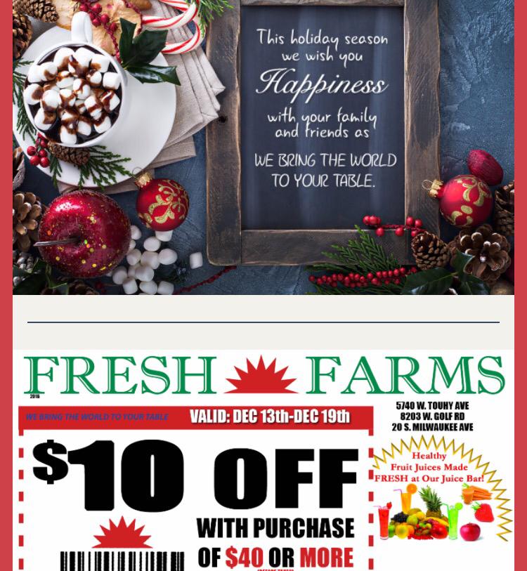 Fresh Farm MailingList