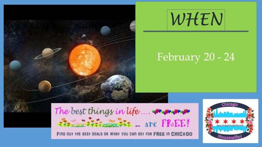 FREE Admission to Adler Planetarium in February 2017