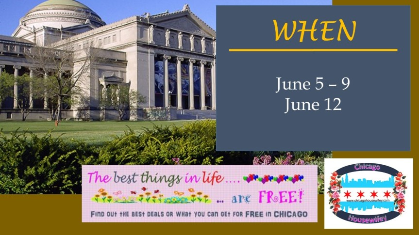 FREE Admission to the Museum of Science and Industry in June 2017